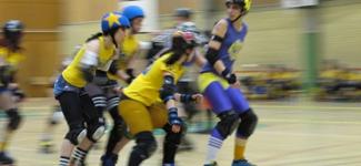Birth of Swedish Roller Derby